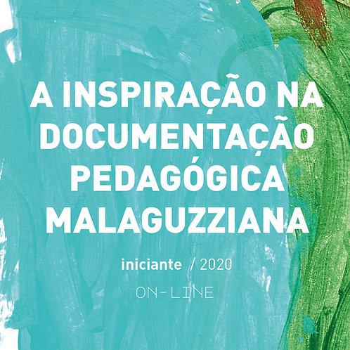 A inspiração na documentação pedagógica Malaguzziana - iniciante  [out-nov]