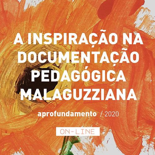 A inspiração na documentação pedagógica Malaguzziana - aprofundamento [out-nov]