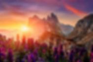 2020_Molvenosee Trentino_Bergen Sonnenun