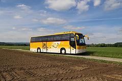 Postcar 42-Plätzer Rollstuhl Reisecar