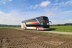 Doppelstöckercar Moser Reisen AG Hochzeitsfahrt