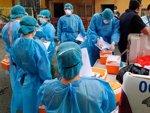 Ecuador registró 194.876 casos confirmados de covid-19