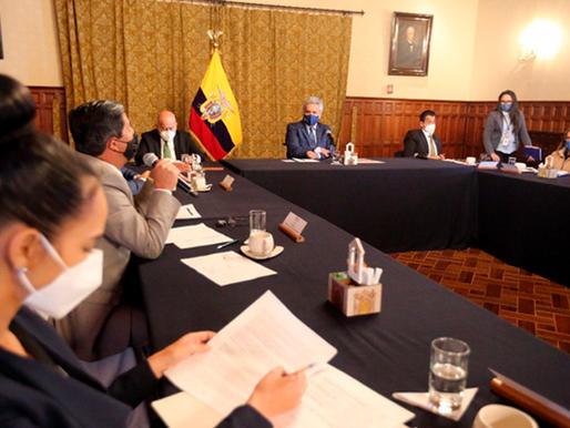 Gobierno acuerda derogar acuerdos ministeriales y apoyar gestiones de los GAD