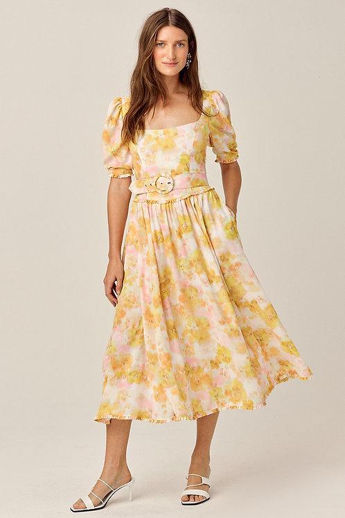 Zinna Midi Dress