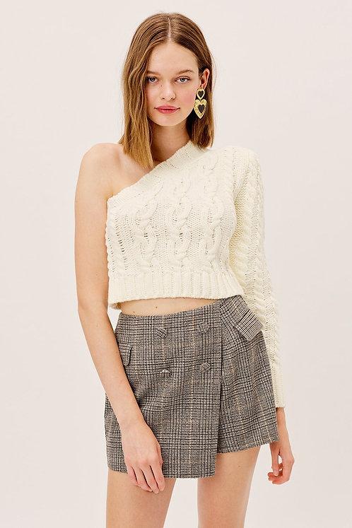 Quinn One Shoulder Sweater