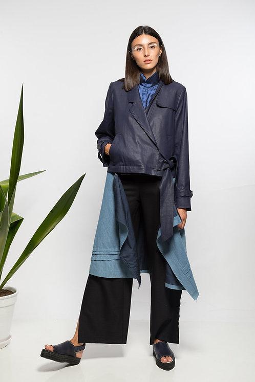 Detachable trench coat