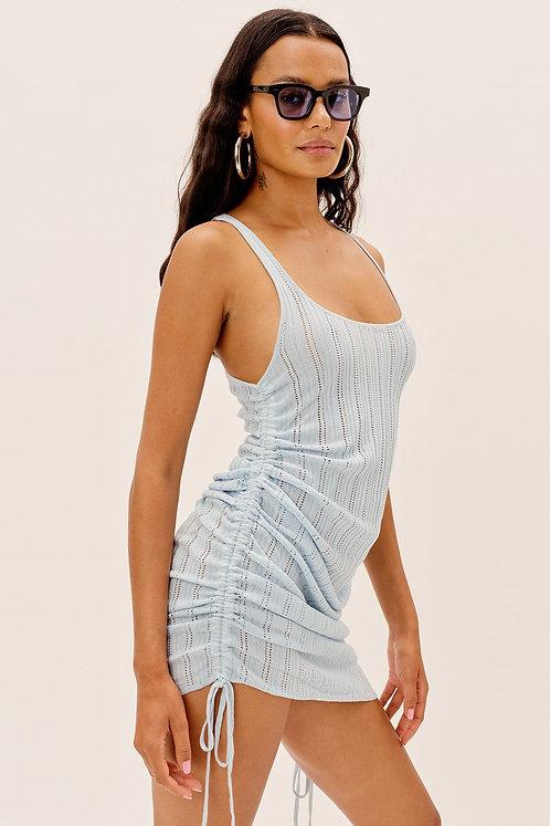 Rhea Pointelle Tank Dress