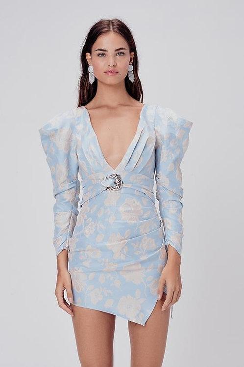 Reese Jacquard Mini Dress