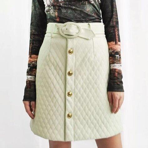 Mid-Century Quilt Skirt