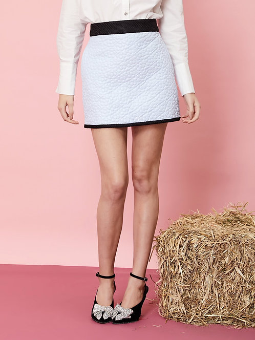 Jolene Quilted Micro Skirt