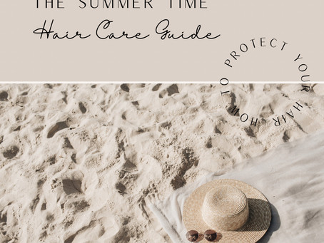 how to protect your hair this summer- The summer haircare Guide
