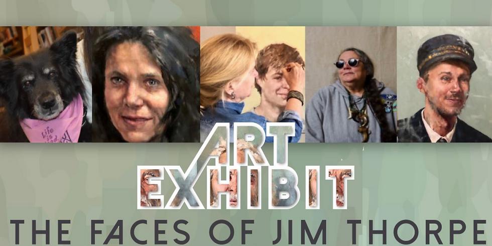 Art Exhibit - Faces of Jim Thorpe