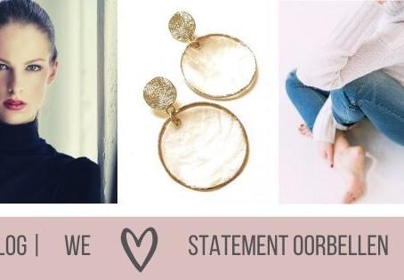 We love statement oorbellen !!!