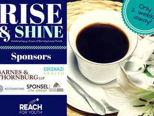Join Us for Rise & Shine 2017