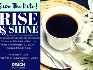 Save the Date: Rise & Shine 2017