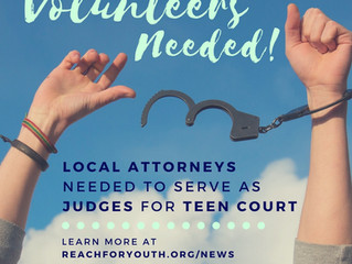 Volunteer Attorneys Needed for Teen Court Program in Morgan County!