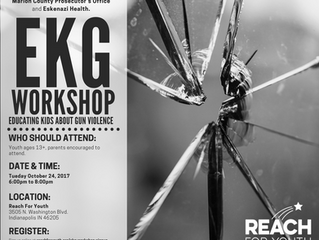 EKG: Educating Kids About Gun Violence Workshop