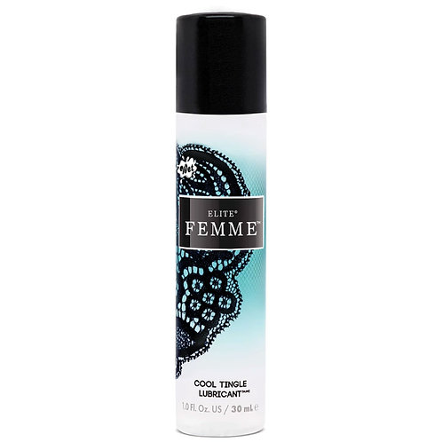 Wet Femme Water-Silicone Blend Cool Tingle 1 Fl. Oz.