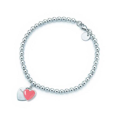Sterling Silver Classic Heart Bracelet