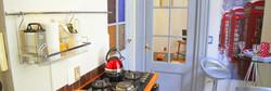 One bedroom, kitchen