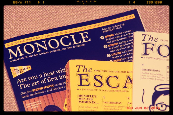 Good, quick reads - Monocle