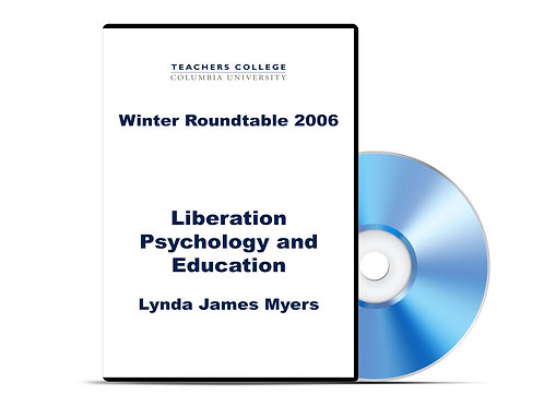 Lynda James Myers - Liberation Psychology and Education - DVD