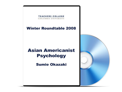 Sumie Okazaki - Asian Americanist Psychology - DVD