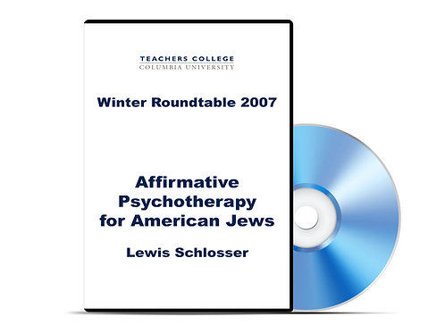 Lewis Schlosser - Affirmative Psychotherapy for American Jews - DVD