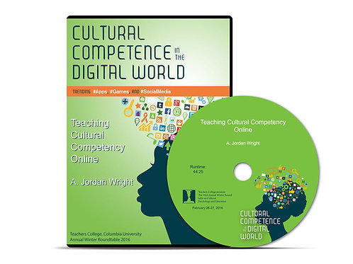 A. Jordan Wright - Teaching Cultural Competency Online - DVD