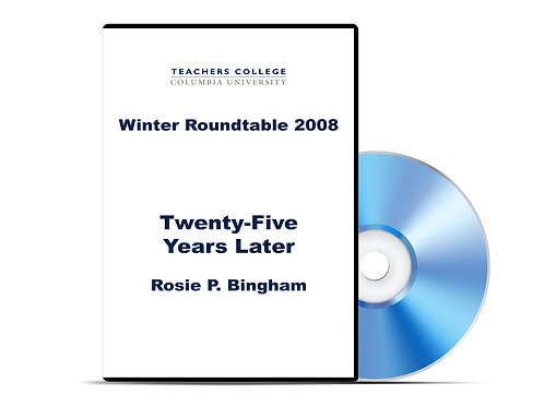 Rosie P. Bingham - Twenty-Five Years Later- DVD