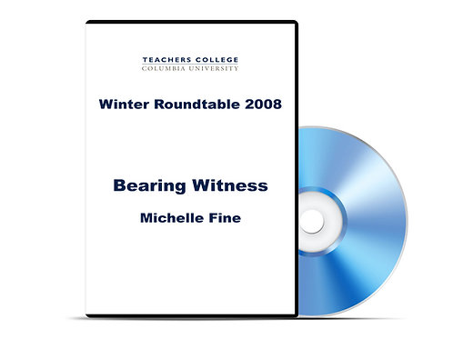 Michelle Fine - Bearing Witness - DVD