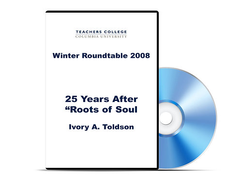 "Ivory A. Toldson - 25 Years After ""Roots of Soul"" - DVD"
