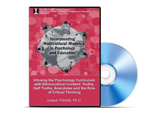 Joseph Trimble - Infusing the Psychology Curriculum - DVD