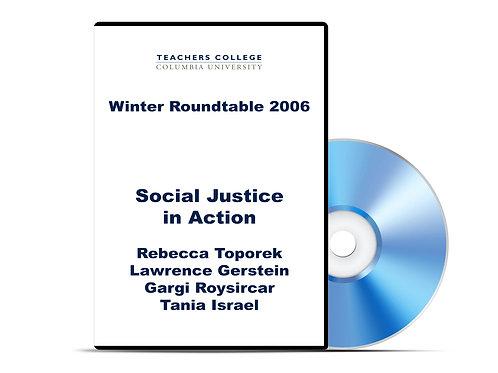 Toporek, Gerstein, Roysircar, and Israel - Social Justice in Action - DVD