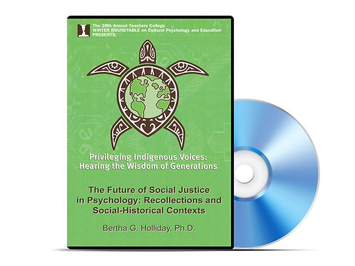 Bertha G. Holliday - The Future of Social Justice in Psychology - DVD