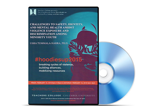 Usha Tummala-Narra - Challenges to Safety, Identity, and Mental Health - DVD