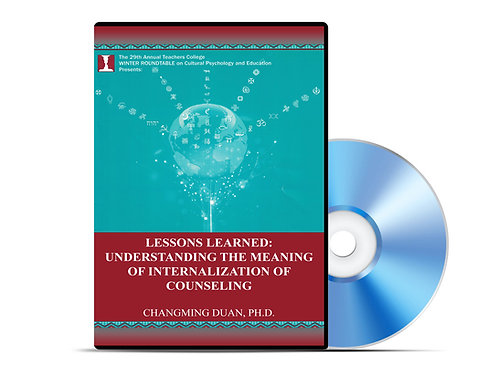 Changming Duan - Understanding the Meaning of Internationalization - DVD