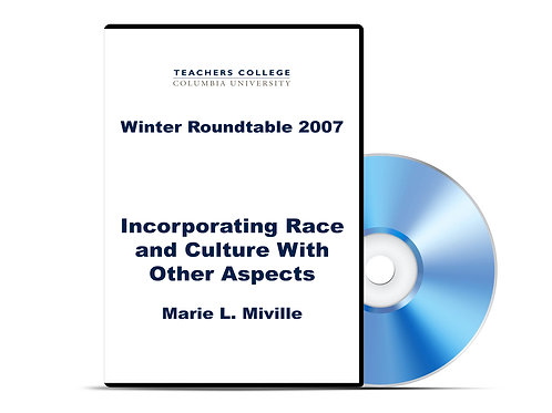 Marie L. Miville - Incorporating Race and Culture With Other Aspects - DVD