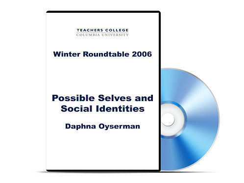 Daphna Oyserman - Possible Selves and Social Identities - DVD