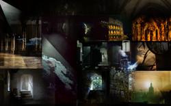 Holographic filminstallation Portals