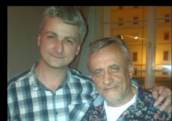 S Richardem Tesaříkem