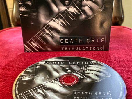 Final Batch of Personally Signed Death Grip Tribulations CD's