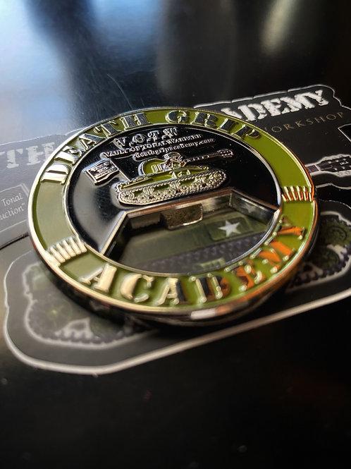 Vault of Tonal Warfare Challenge Coin / Bottle Opener