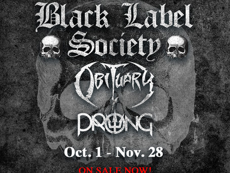 Black Label Society, Obituary, Prong