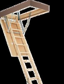 чердачная лестница из алюминия