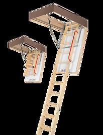 лестница деревянная чердачная