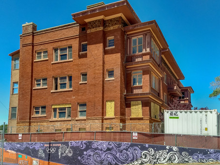 Peery Apartments, On Its Way To Transformation
