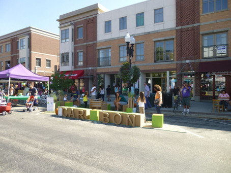 Carbon Architects takes part in Park(ing) Day