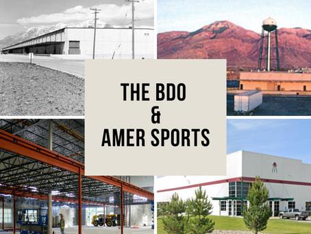 The BDO & Amer Sports