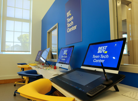 SLC Best Buy Teen Tech Center is Completed!